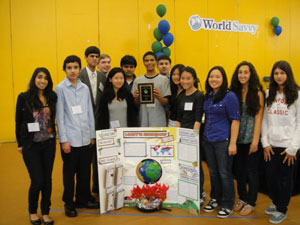 World Savvy Student Project and Award